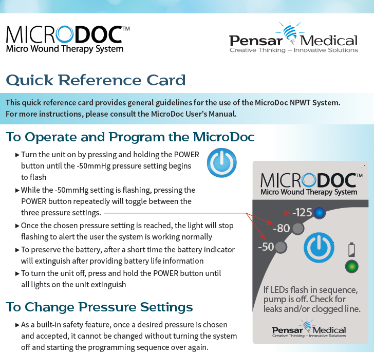 MicroDoc Quick Ref Card - Cover